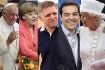 V rebríčku najsexi politikov je Merkelová, Fico, paradoxne aj pápež