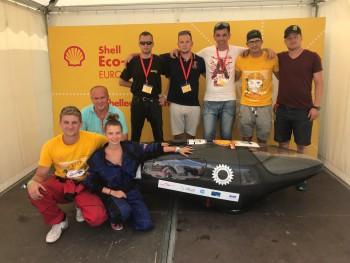 Elektromobil 'dopravákov' na svetovej súťaži v Londýne obstál
