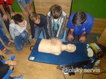 Deti zo ZŠ J. Matúšku vyhrali defibrilátor aj kurz prvej pomoci