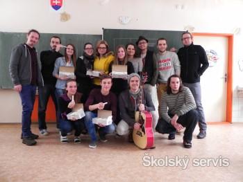 Kapela Peter Bič Project má konkurenciu - študentov z Trebišova