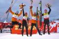 Nemci ovládli v Lillehammeri tímovú súťaž SP v severskej kombinácii