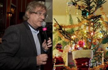 Manželka Mekyho Žbirku zdobila vianočný stromček už v lete