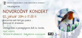 Výťažok z Novoročného koncertu venuje ZUŠ sv.Cecílie katolíckym médiám