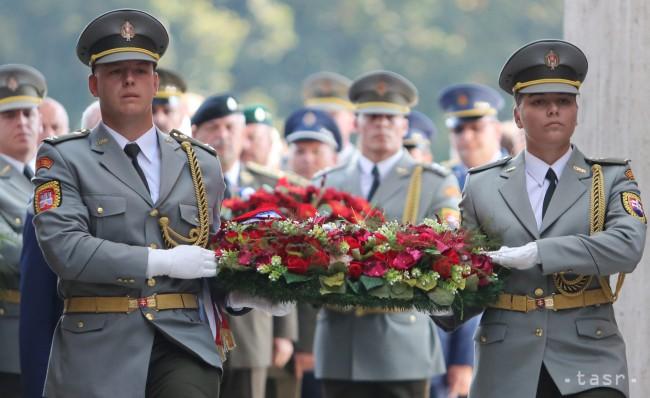 Dolnooravci si pripomenuli 73. výročie Slovenského národného povstania