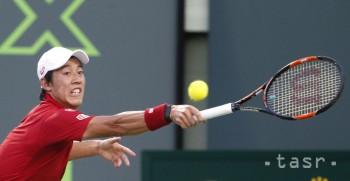 Becker vypadol v 1. kole US Open, vyradil ho Kei Nišikori