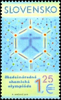 Slovenská pošta vydá známku venovanú Medzinárodnej chemickej olympiáde