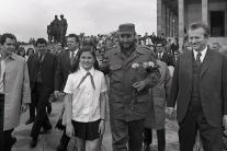 UNIKÁTNE HISTORICKÉ FOTO CASTRA: Kubánsky vodca navštívil Bratislavu