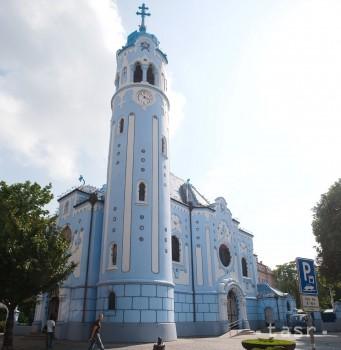 Bratislavský Modrý kostolík vysvätili pred sto rokmi