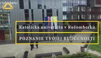 VIDEO: Pozvánka na Deň otvorených dverí Katolíckej univerzity