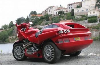 Auto alebo motorka? Snaefell spojil oboje do jedného kusu