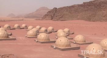 Hotel v Jordánsku ponúka ubytovanie ako na Marse. Natáčali tu Marťana