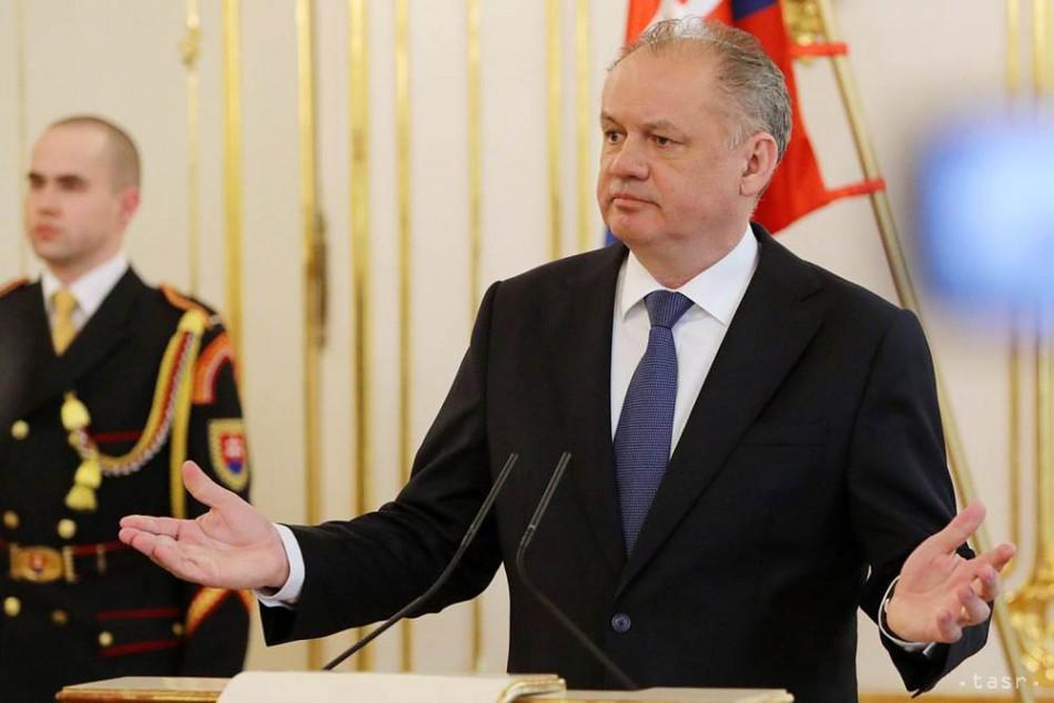 Prezident A. Kiska v stredu prijme nových kandidátov na ministrov