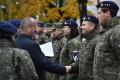VIDEO: Minister obrany Gajdoš ocenil vojakov a vojenských policajtov