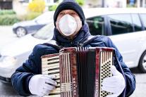 Pouličný muzikant
