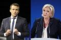 Vo francúzskych voľbách vedie Macron a Le Penová