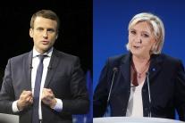 VIDEO: Le Penová a Macron postupujú do druhého kola