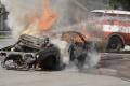 Vo Veľkom Mederi horeli úmyselne zapálené autá
