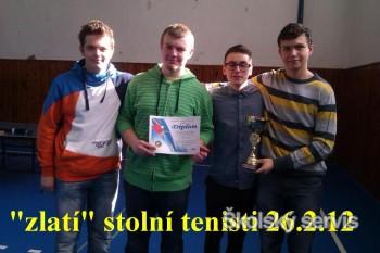 Gymnazisti postúpili do krajského kola súťaže v stolnom tenise
