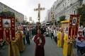 Ulicami Kyjeva prechádza kontroverzná náboženská procesia