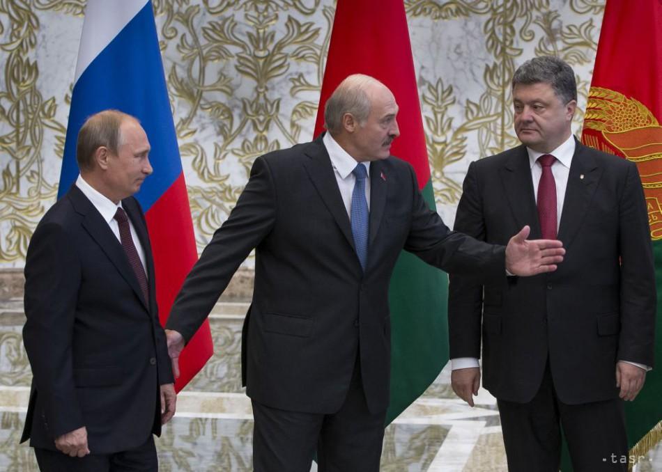 Prezidenti Ruska a Ukrajiny rokovali v Minsku o politike i ekonomike