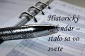 Svet: Historický kalendár na 17. januára