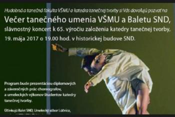 Balet SND pozýva na spoločné predstavenie so študentmi VŠMU