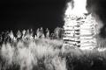 UNIKÁTNE FOTOGRAFIE: Takto sa pálili vatry za socíku