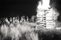 UNIKÁTNE FOTOGRAFIE: Takto sa pálili vatry za 'socíku'