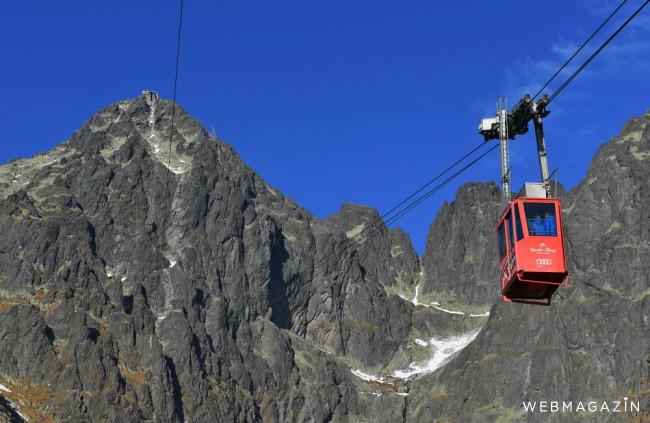 Vysoké Tatry: Lanovka na Lomnický štít je opäť v prevádzke