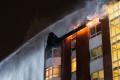 V Michalovej horela v noci hospodárska budova, zranila sa jedna osoba