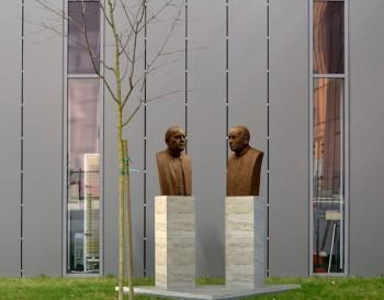 Na Katolíckej univerzite odhalenia pamätník otcom zakladateľom