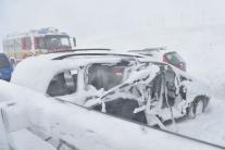 Slovensko katastrofy dopravné nehody D1 Poprad Spi