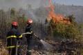 Požiar pri obci Láb sa podarilo lokalizovať