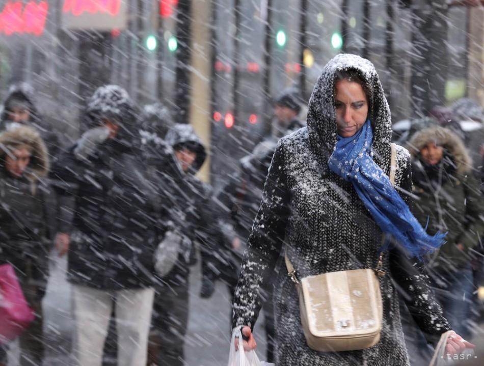 Toto na nás chystá počasie: Pol metra snehu a silný vietor