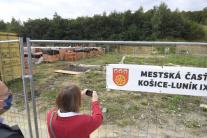 Svojpomocná výstavba rodinných domov na rómskom sí