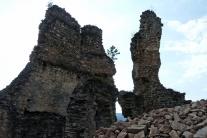Divín, hrad, záchrana