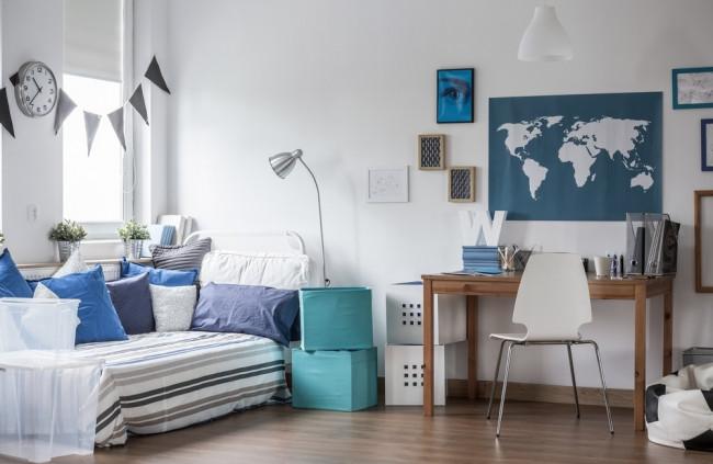 Zariaďte si študentskú izbu originálne a prakticky