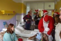 Mikuláš zo SZŠ - EK Nové Zámky na návšteve  v nemocnici