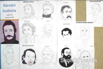 Portréty slovenských buditeľov, ako sme opakovali, čo všetko vieme