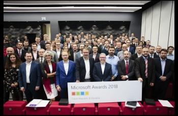 PARTNERS GROUP SK získala ocenenie Microsoft Awards 2018