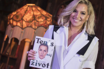 Dominika Cibulková predstavila svoju knižku