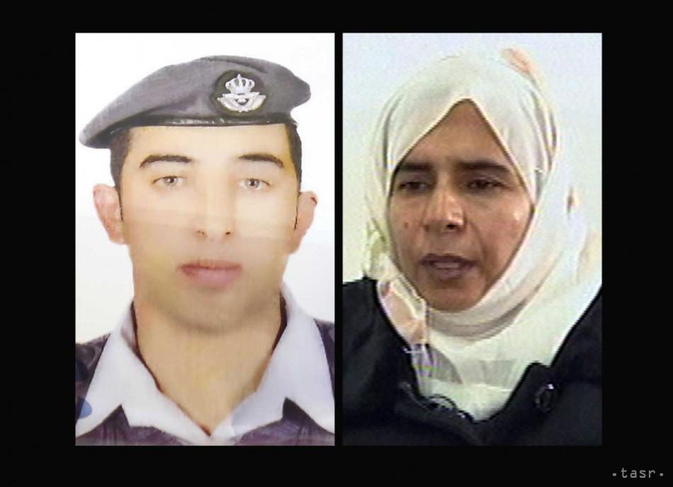 TO JE ONA: Jordánsko vymení samovražednú atentátničku za svojho pilota
