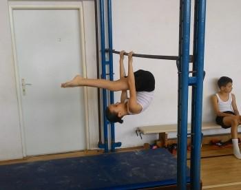 V krajskom kole gymnastického štvorboja žiakov, kategória B - 2.miesto