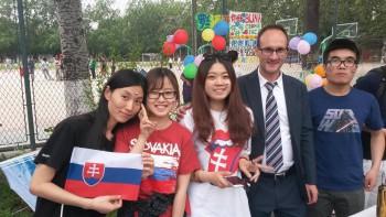UKF ako prvá slovenská univerzita spolupracuje s Pekinskou univerzitou