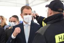 Premiér Matovič na návšteve v PSA Trnava