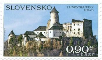 Ľubovniansky hrad bude na novej poštovej známke