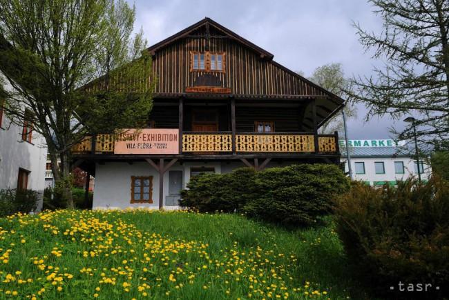 fb92783360bca Na snímke historická vila Flóra v Starom Smokovci vo Vysokých Tatrách, 15.  mája 2015.