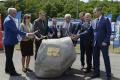 Poklepaním kameňa odštartovali výstavbu diaľničného obchvatu Prešova