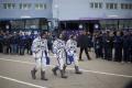 Kozmická loď Sojuz s trojčlennou posádkou sa spojila s ISS