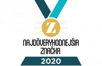 Verejnosť rozhodla o Najdôveryhodnejších značkách roka 2020